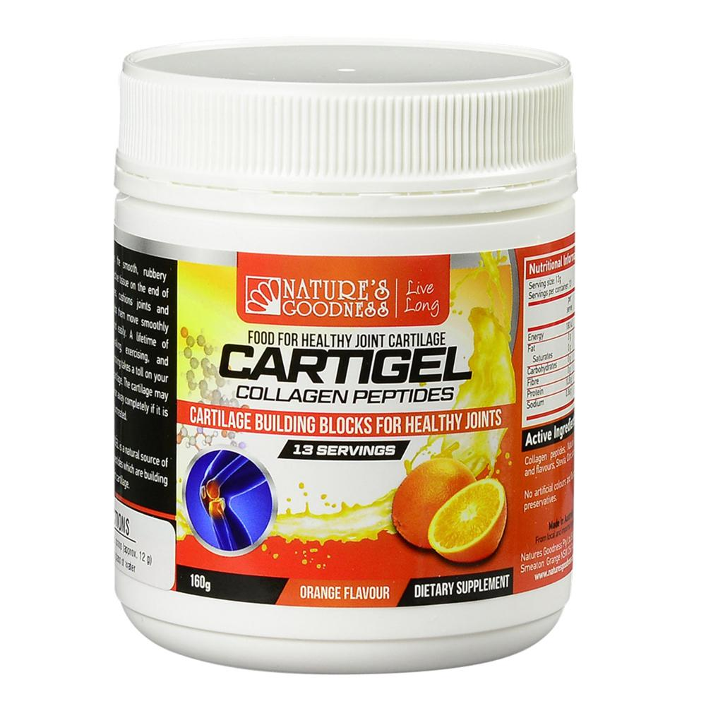 Nature's Goodness Cartigel Collagen Peptides 160g