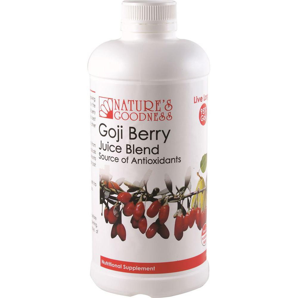 Nature's Goodness Goji Berry Juice Blend 1L