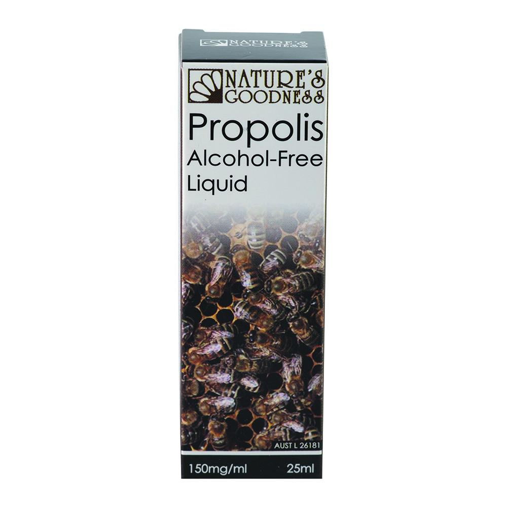 Nature's Goodness Propolis Alcohol-Free Liquid 150mg/ml 25ml