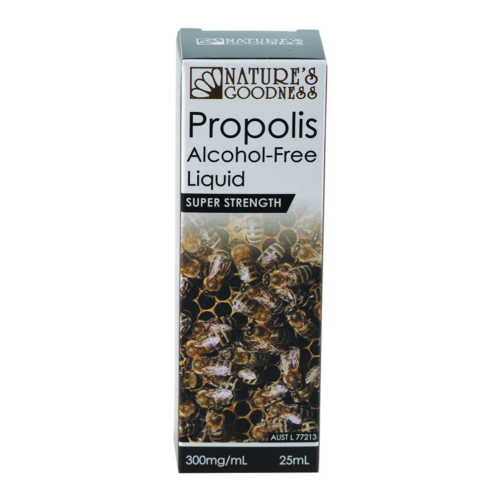 Nature's Goodness Propolis Alcohol-Free Liquid Strong 300mg/ml 25ml
