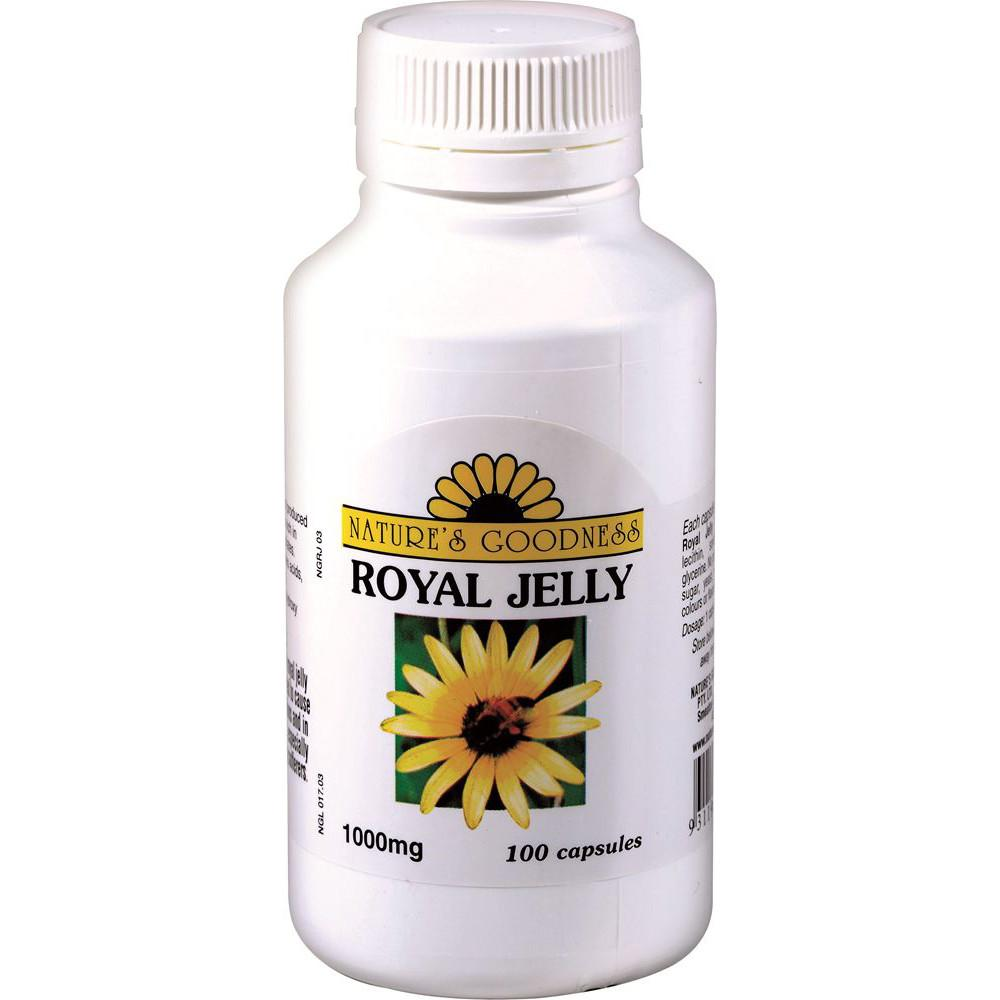 Nature's Goodness Royal Jelly 1000mg 100c
