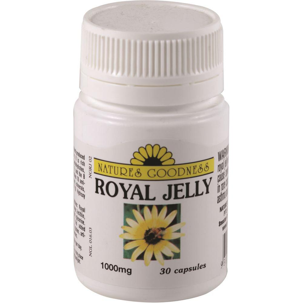 Nature's Goodness Royal Jelly 1000mg 30c