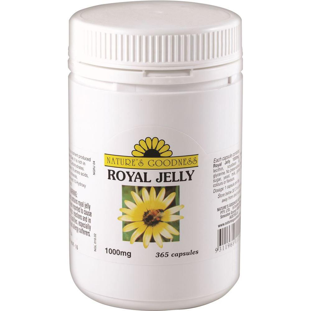 Nature's Goodness Royal Jelly 1000mg 365c