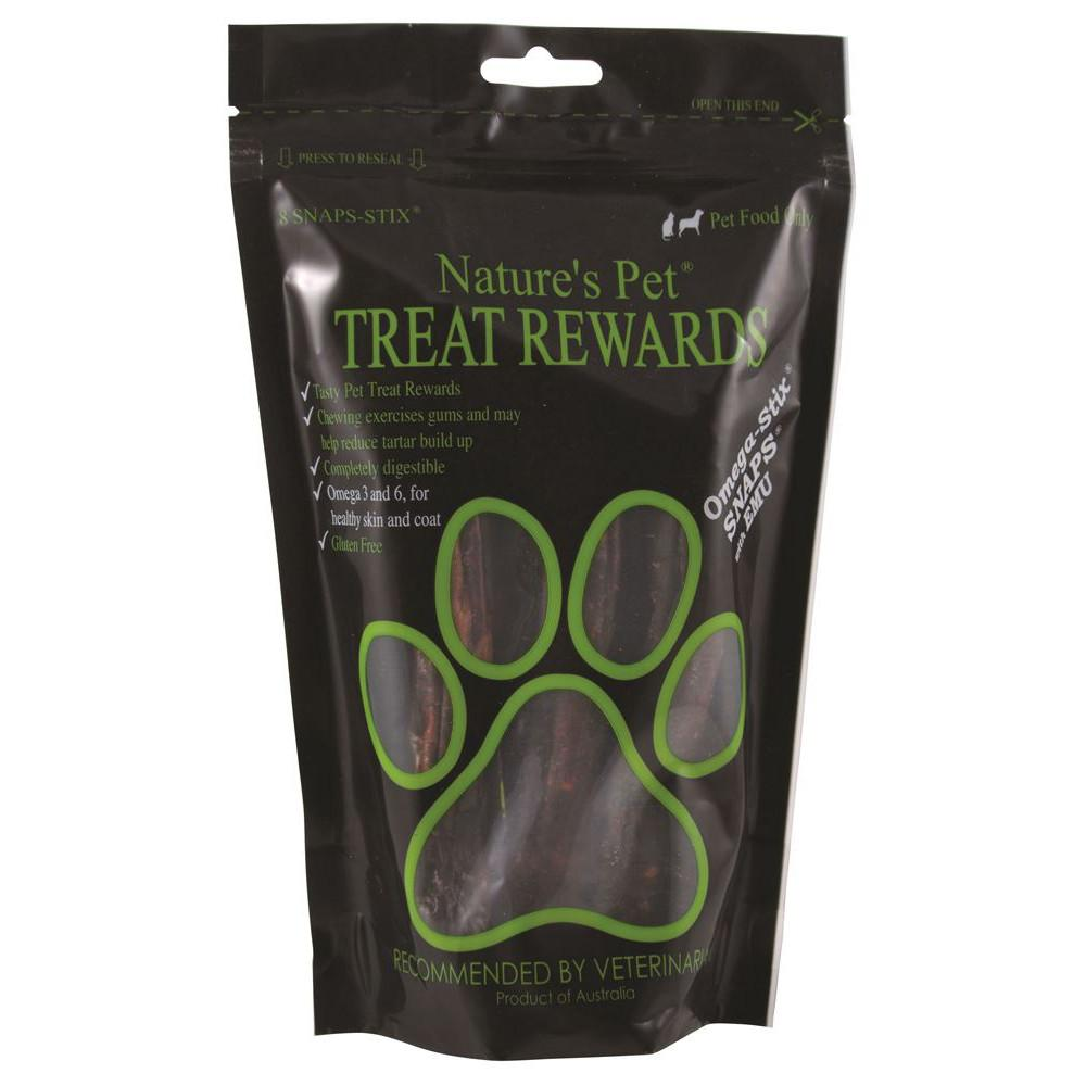 Nature's Pet Omega-Stix Snaps 8 Pack