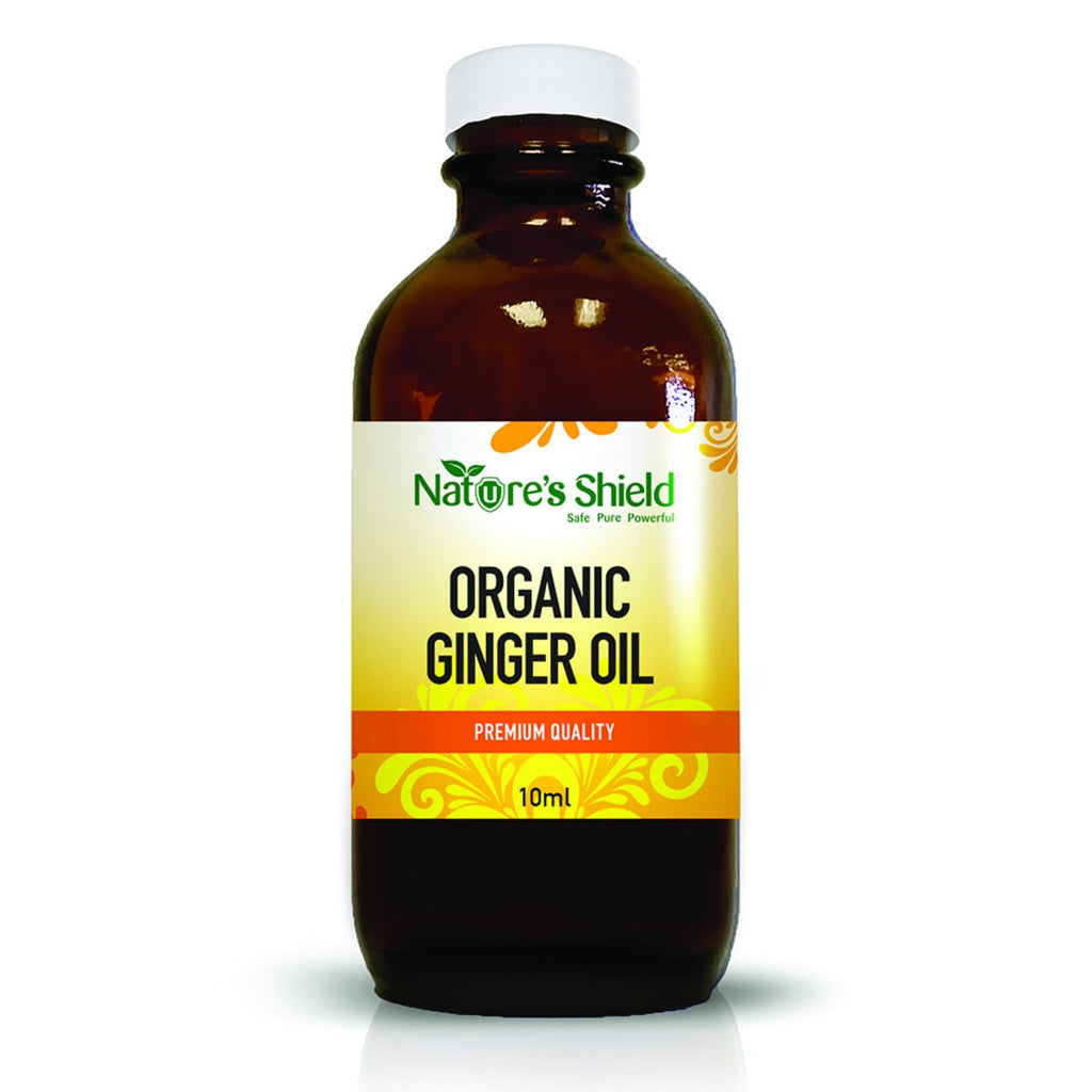 Nature's Shield Organic Edible Ginger Oil