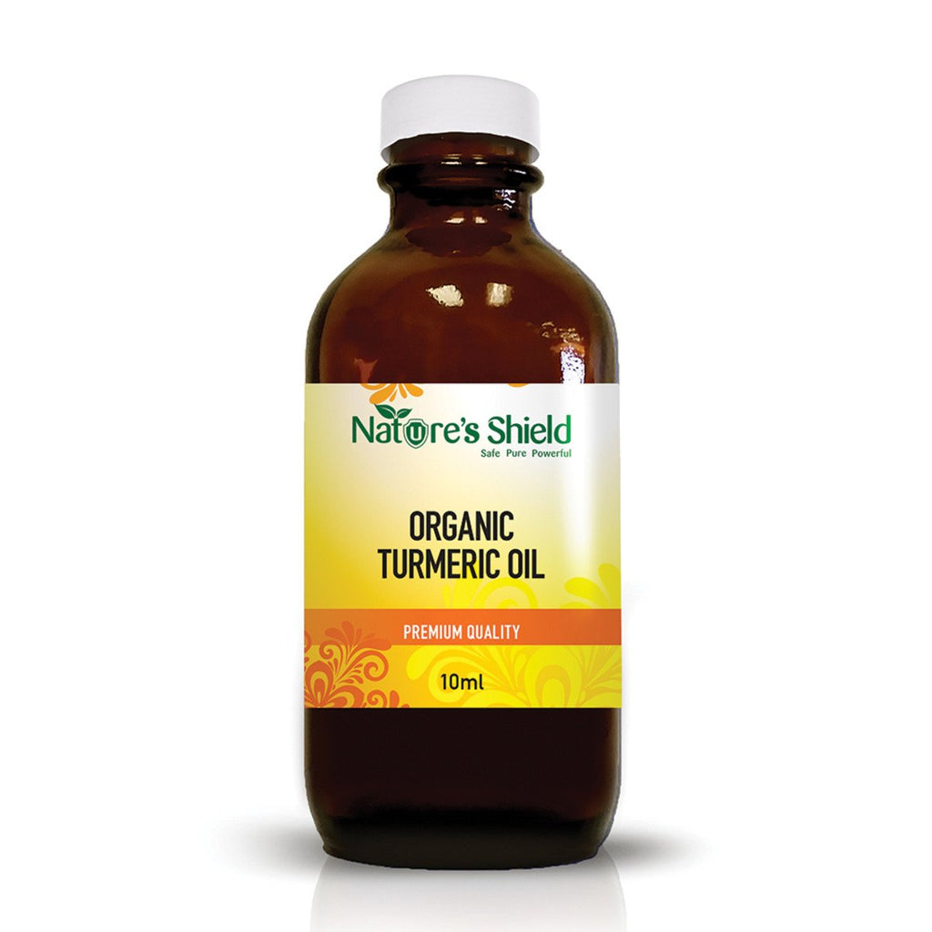 Nature's Shield Organic Edible Turmeric Oil