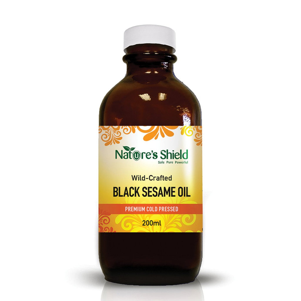 Nature's Shield Wild Crafted Black Sesame Oil