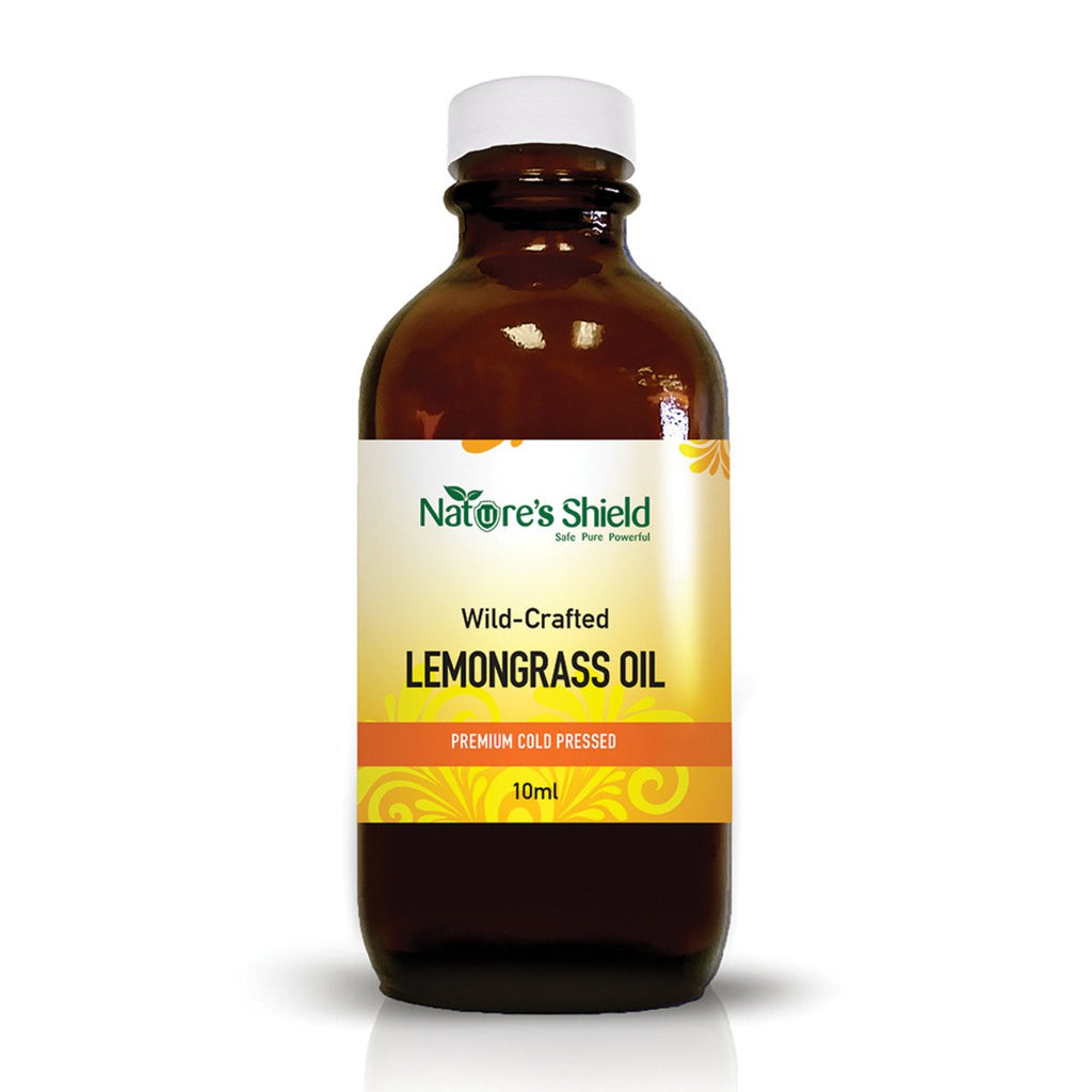 Nature's Shield Wild Crafted Lemongrass Oil