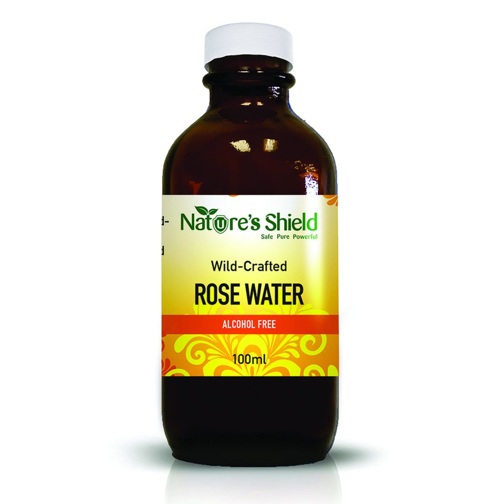 Nature's Shield Wild Crafted Rose Water