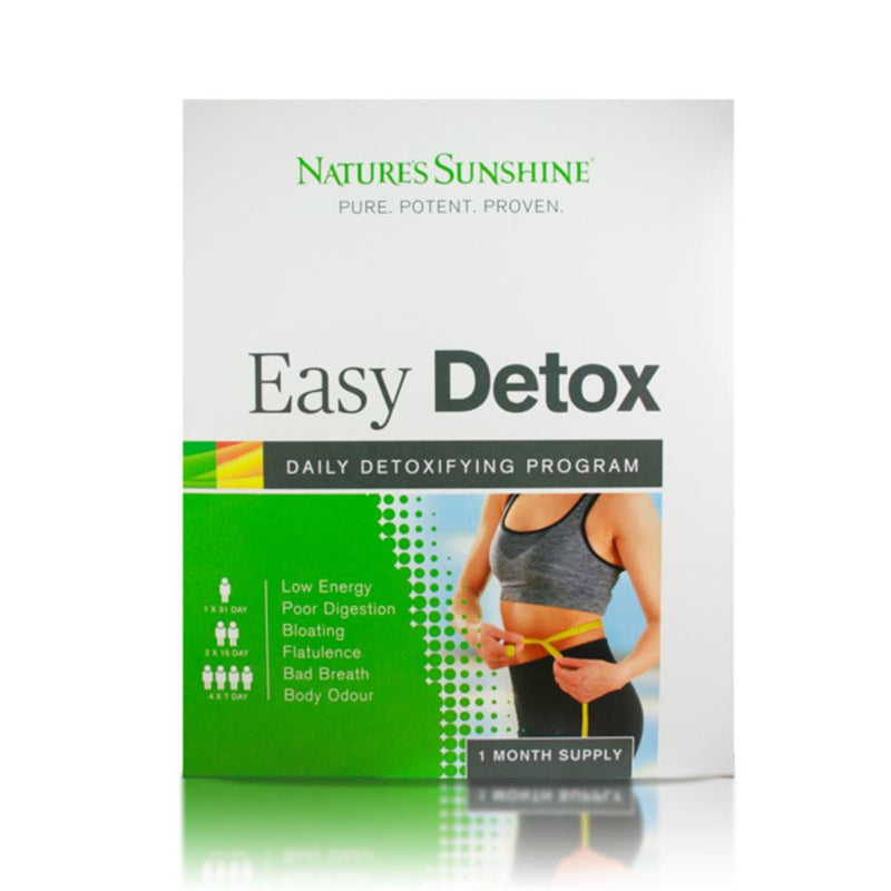 Nature's Sunshine Easy 31 Day Detox Pack