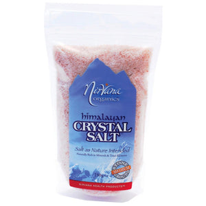 Nirvana Organics Himalayan Salt 250g Medium