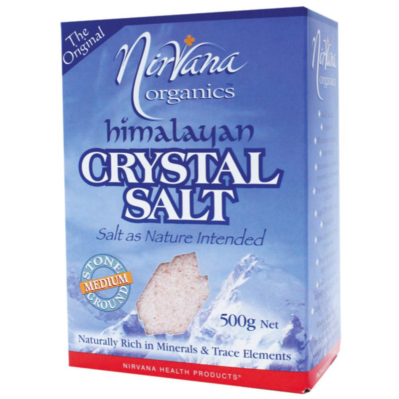 Nirvana Organics Himalayan Salt 500g Medium