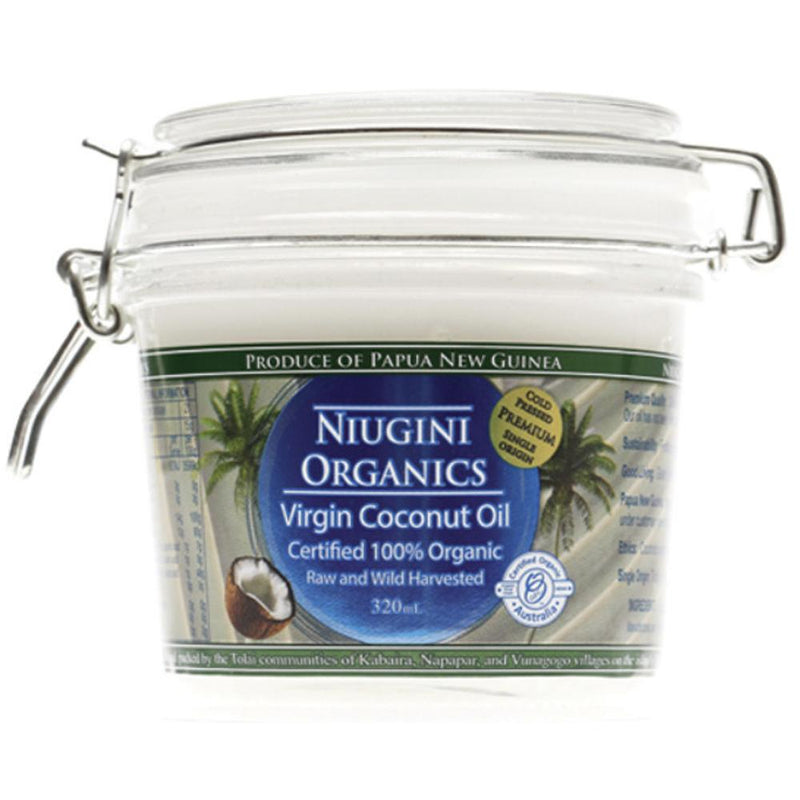 Niugini Organics Virgin Coconut Oil 320ml 100% Pure