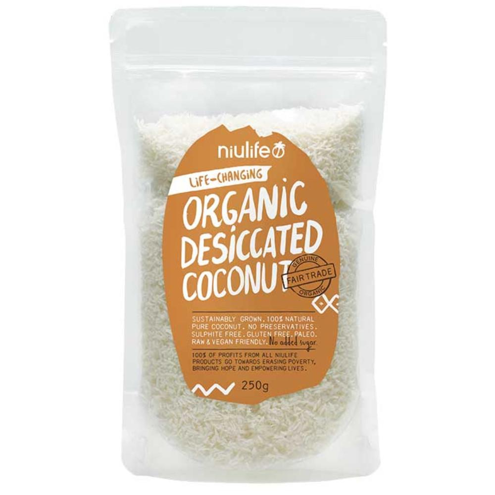 Niulife Desiccated Coconut 250g