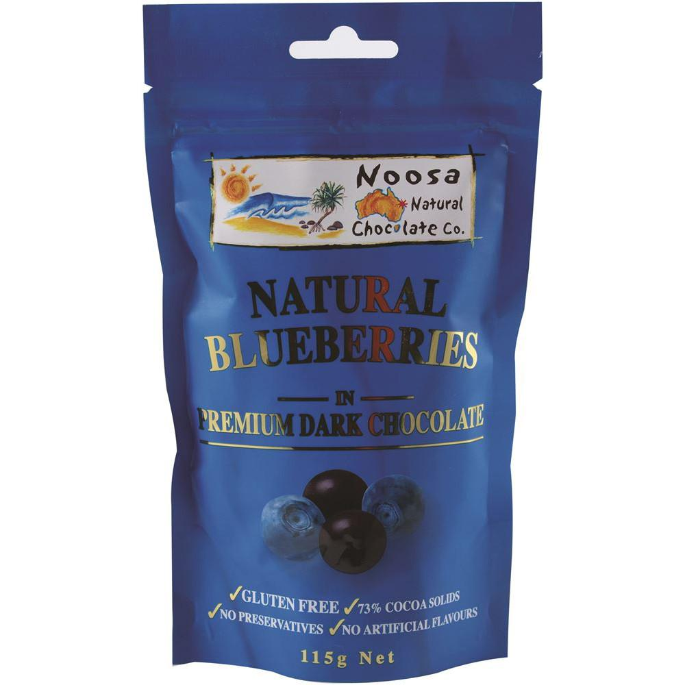 Noosa Natural Blueberries Dark Chocolate 115g