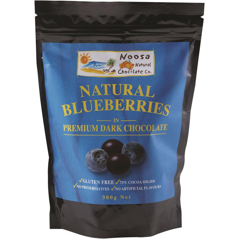 Noosa Natural Blueberries Dark Chocolate 300g