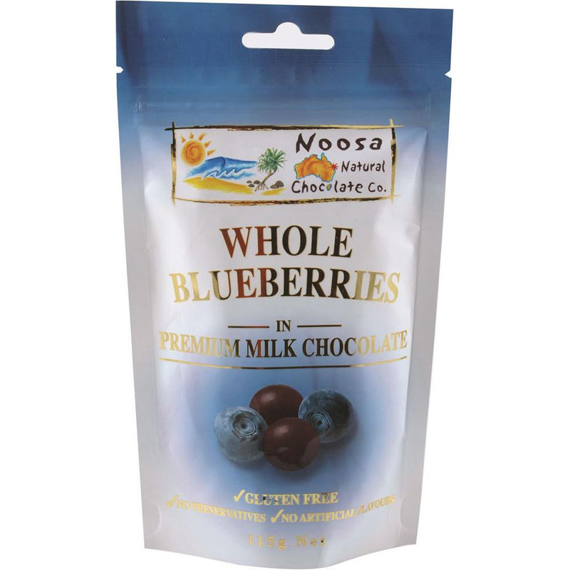 Noosa Natural Blueberries Milk Chocolate 115g