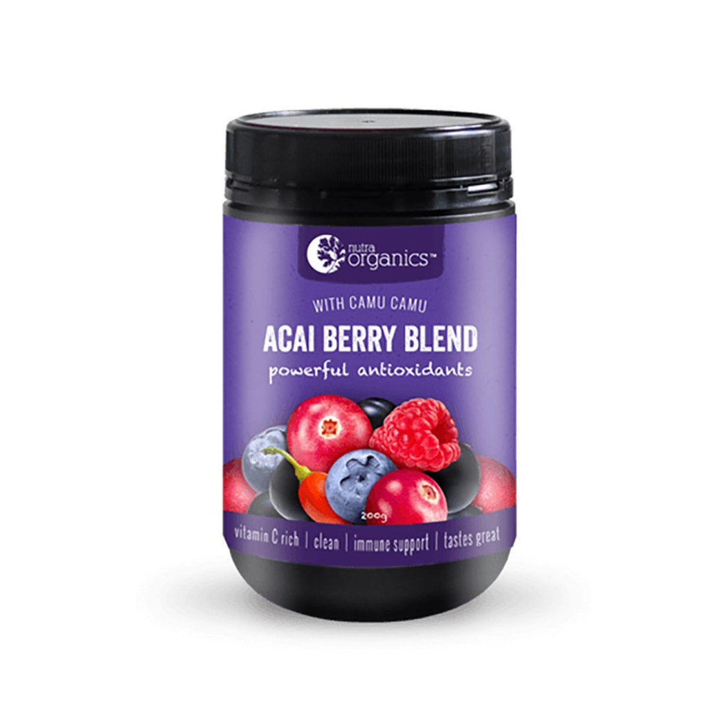 Nutra Organics Acai Berry Blend Powder 200g