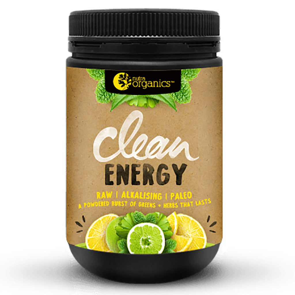 Nutra Organics Clean Energy Lemon Plus Lime 150g
