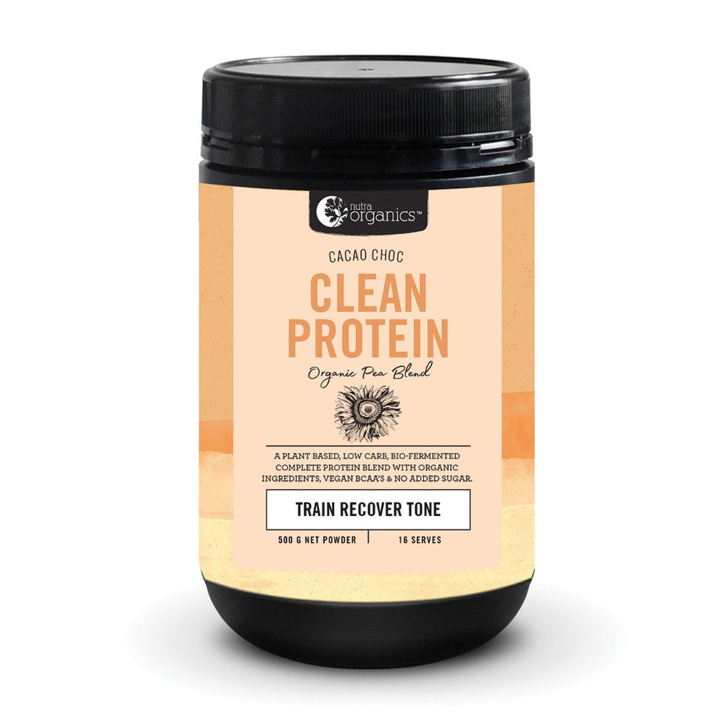 Nutra Organics Clean Protein Cacao Choc 500g