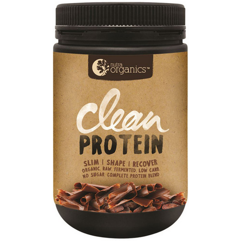 Nutra Organics Clean Protein Chocolate 500g