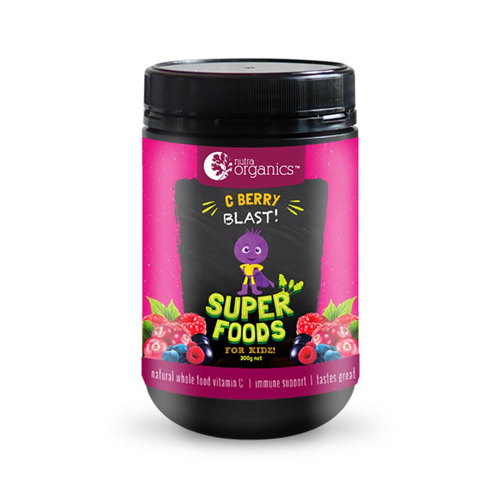 Nutra Organics Superfood for Kidz C Berry Blast 200g