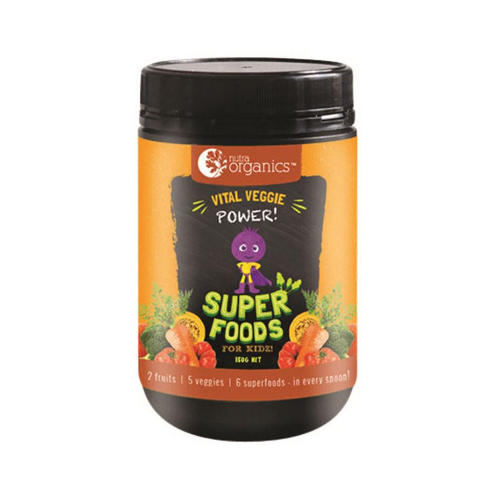 Nutra Organics Superfood for Kidz Vital Veggie 150g