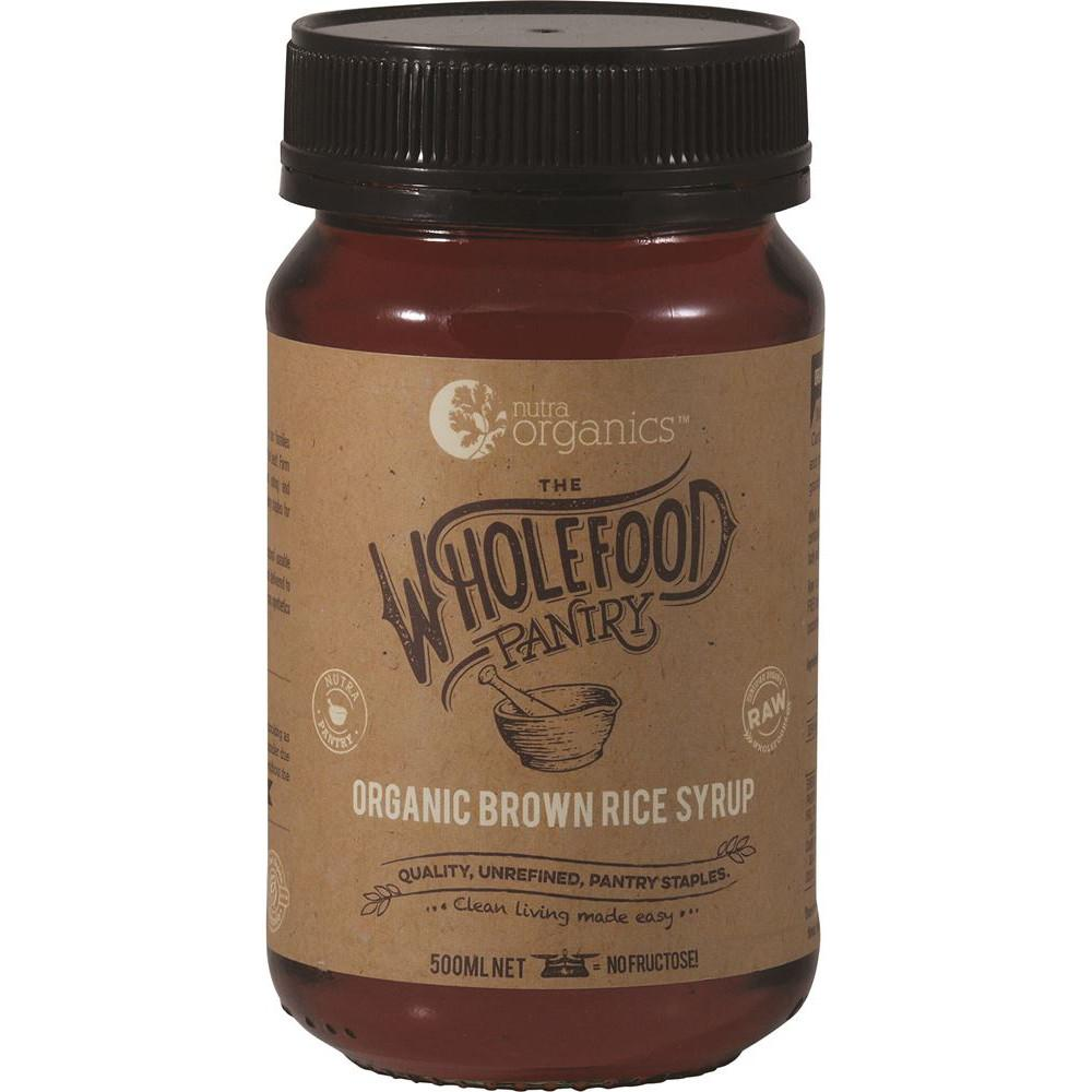 Nutra Organics The Wholefood Pantry Brown Rice Syrup 500ml