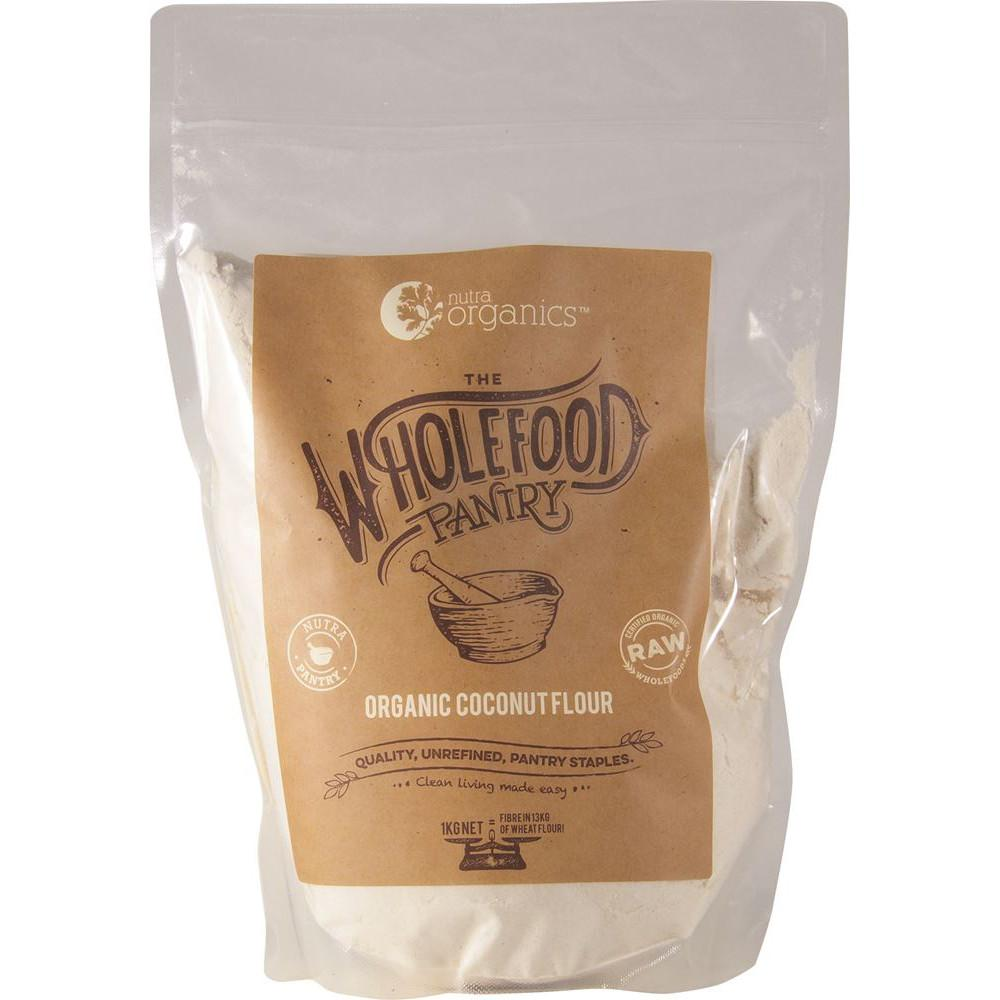 Nutra Organics The Wholefood Pantry Coconut Flour 1kg