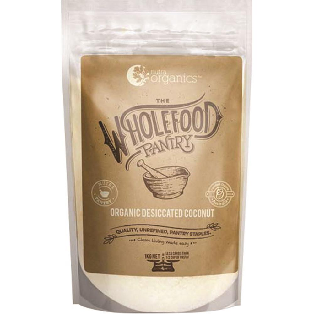 Nutra Organics The Wholefood Pantry Desiccated Coconut 1kg
