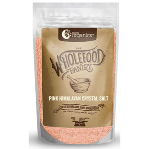 Nutra Organics The Wholefood Pantry Pink Himalayan Salt Fine 600g