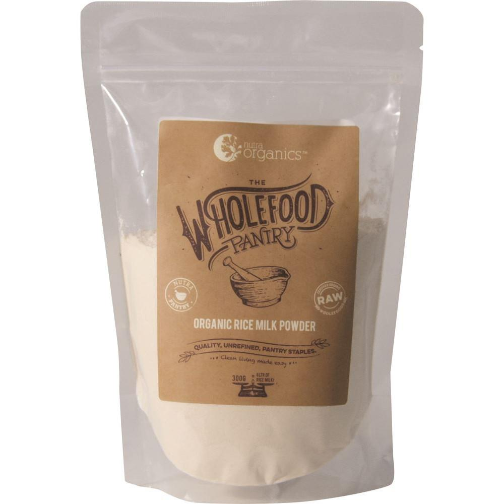 Nutra Organics The Wholefood Pantry Rice Milk Powder 300g