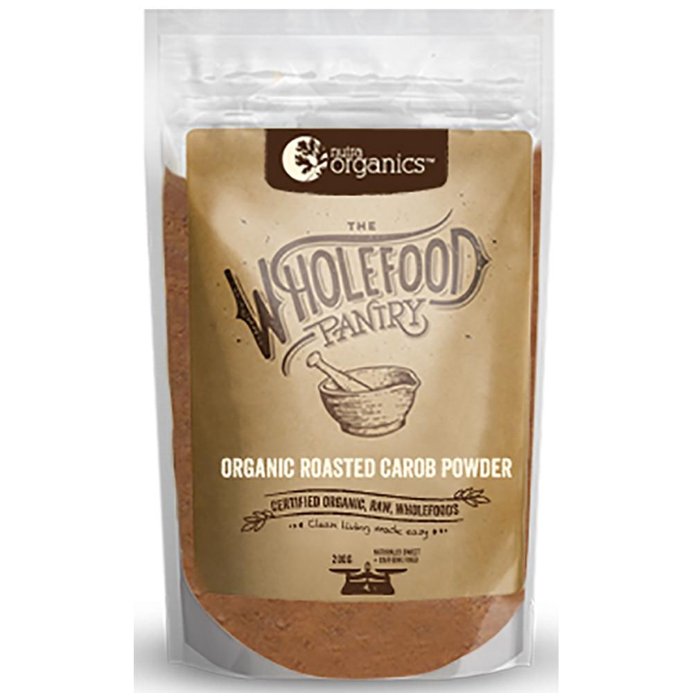 Nutra Organics The Wholefood Pantry Roasted Carob Powder 200g