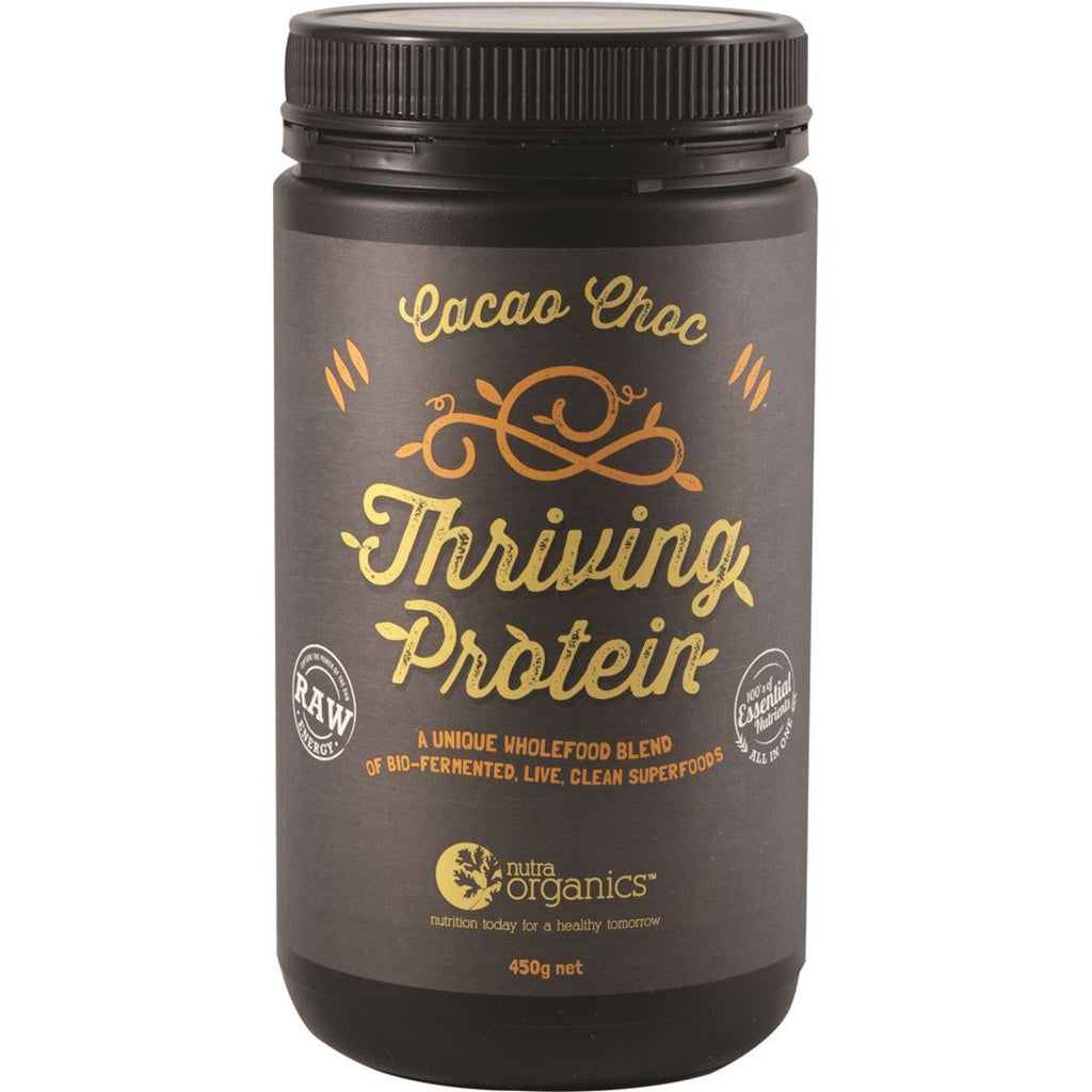 Nutra Organics Thriving Protein Cacao Chocolate 450g