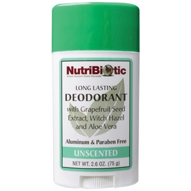 Nutribiotic Deodorant Stick 75g Unscented