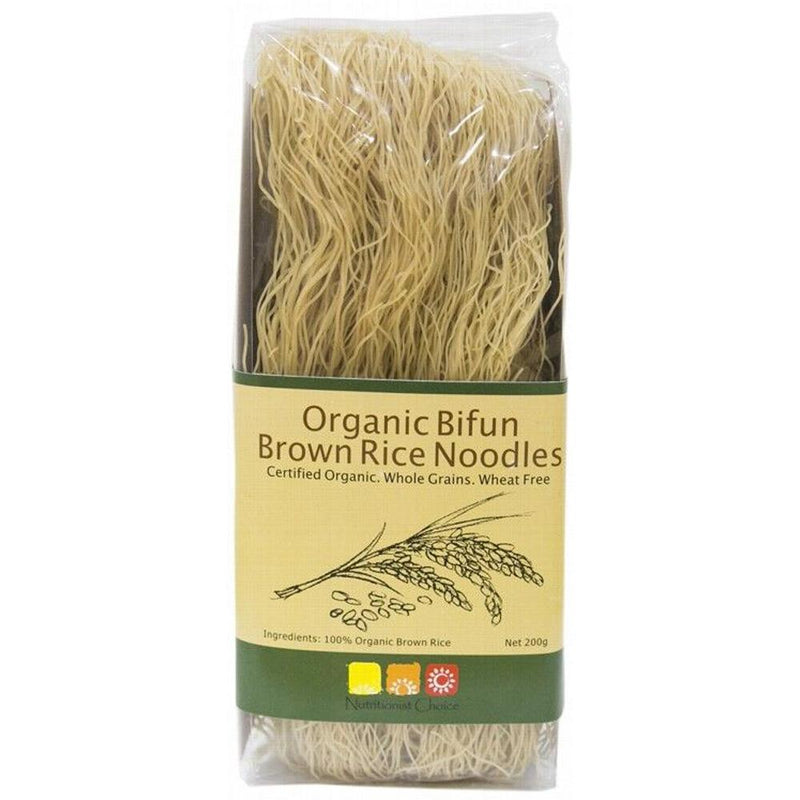 Nutritionist Choice Rice Noodles 200g Brown