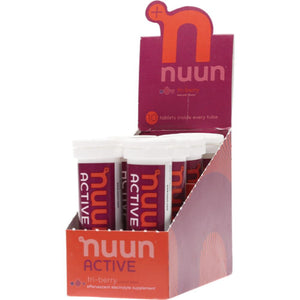 Nuun Active - with Electrolytes 8x10Tab Tablets - Tri-Berry