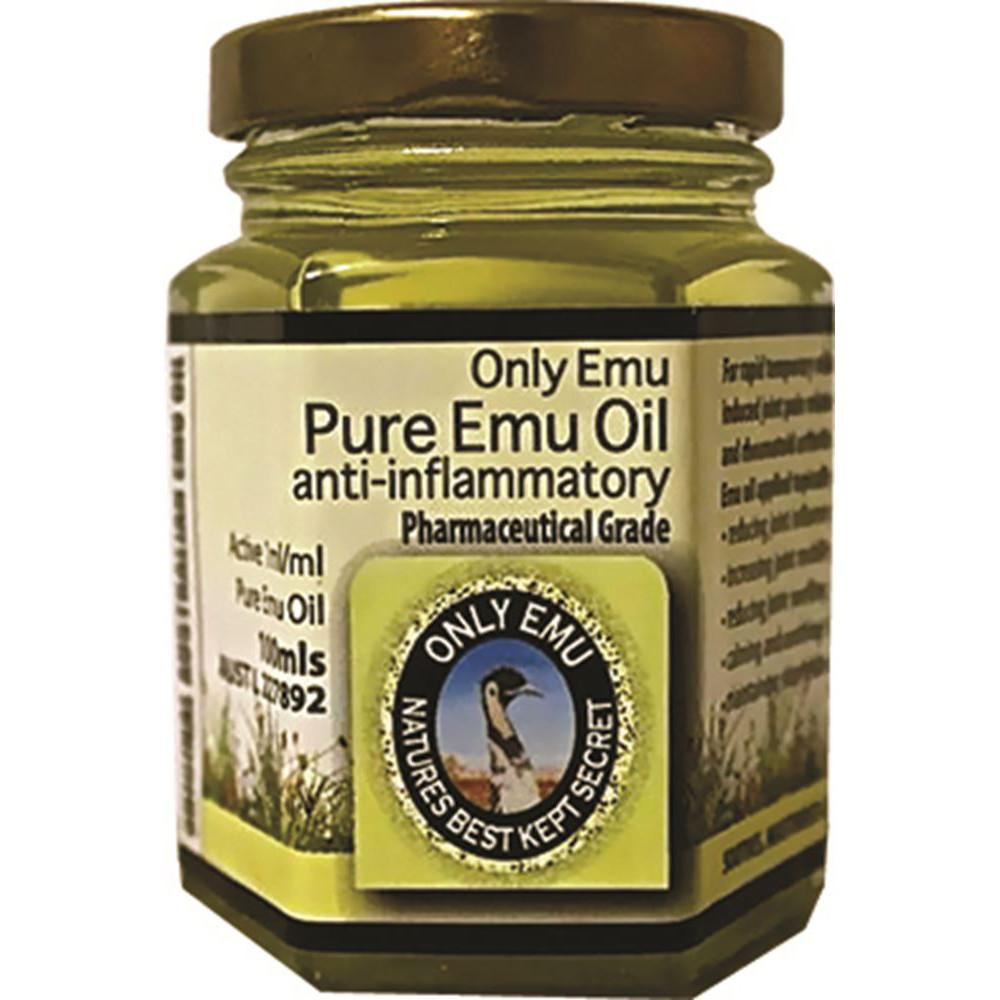 Only Emu Pure Emu Oil 100ml