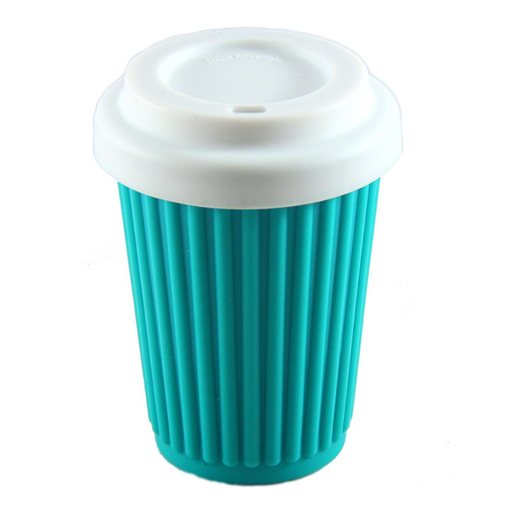 Onya Reusable Coffee Cup Aqua 340ml