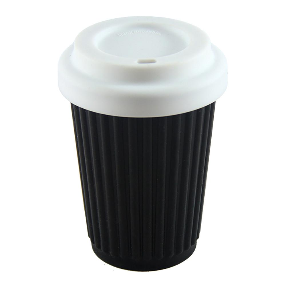 Onya Reusable Coffee Cup Black 340ml