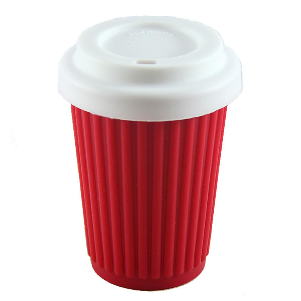 Onya Reusable Coffee Cup Red 340ml