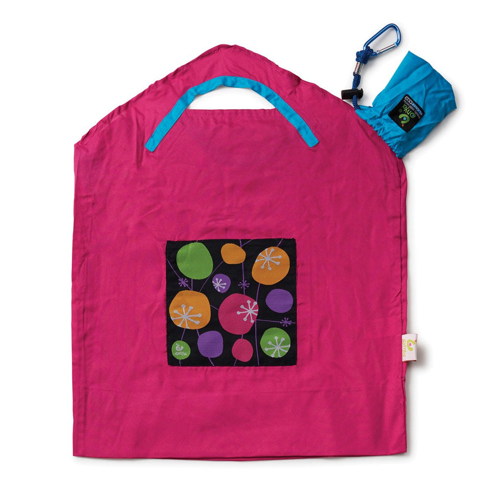 Onya Reusable Shopping Bags Pink Retro Small