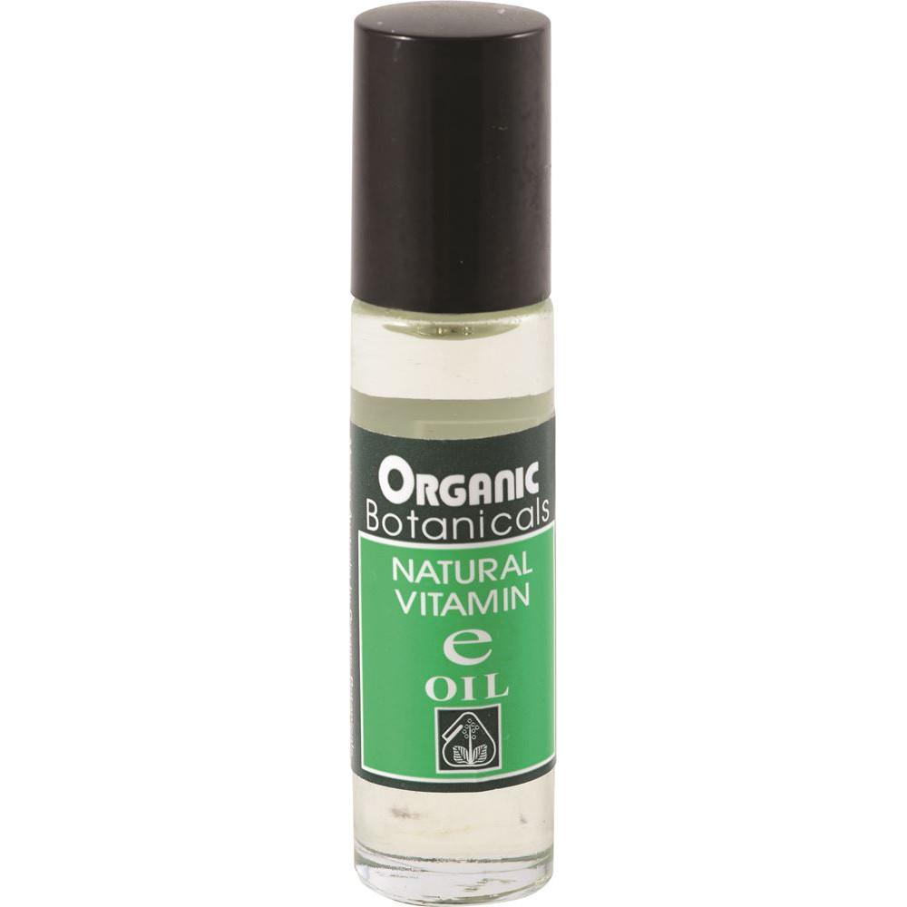 Organic Botanicals Natural Vitamin E Oil Roll On 10ml