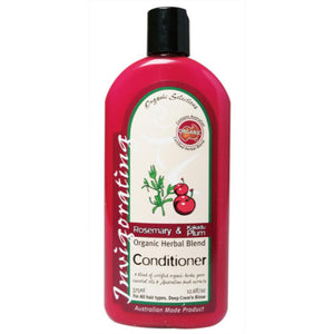 Organic Selections Conditioner 375ml Rosemary & Kakadu Plum