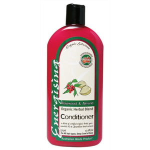 Organic Selections Conditioner 375ml Rosewood & Almond