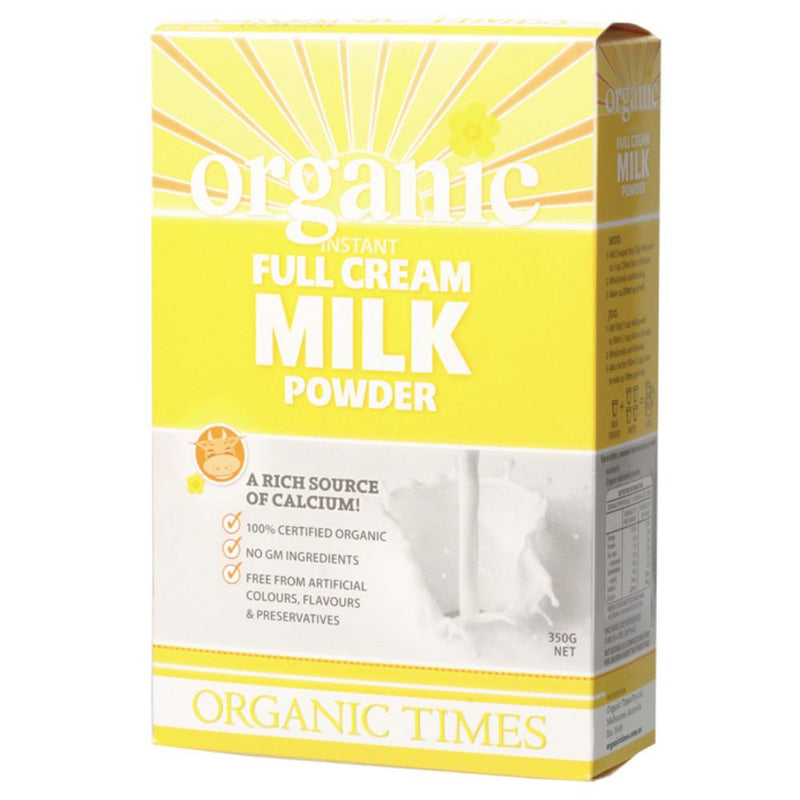 Organic Times Milk Powder 350g Full Cream