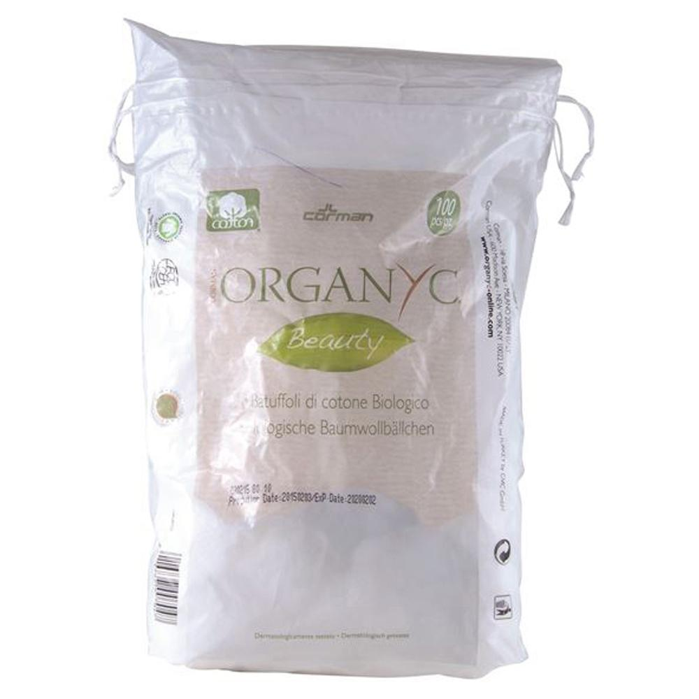 Organyc Beauty Cotton Balls x 100 Pack