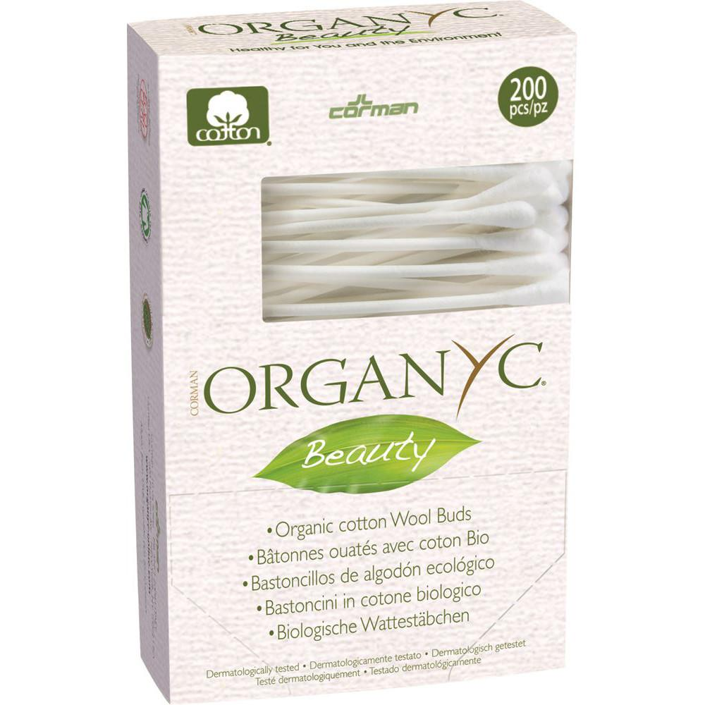 Organyc Beauty Cotton Buds x 200 Pack
