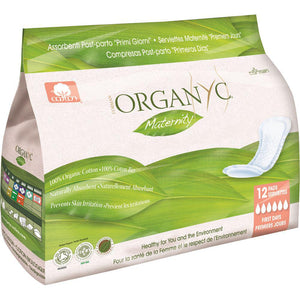 Organyc Pads Maternity x 12 Pack