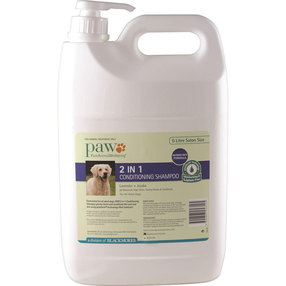 PAW Conditioning Shampoo 2 in 1 (Lavender & Jojoba) 5L
